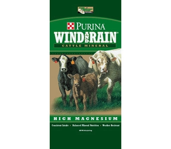 Purina Wind and Rain High Magnesium Cattle Mineral