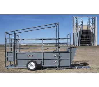 WW Livestock Systems Portable Load Chute