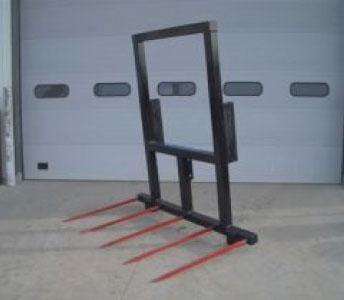 Weiss Master 5 Tine Heavy Duty Payloader Bucket Fork