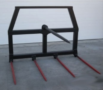 Weiss Master Dual Purpose Bale Fork with Removable Top Tine