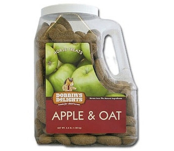 Dobbin's Delights Apple & Oat Horse Treats Jug