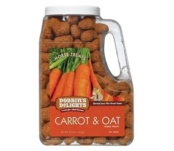 Dobbin's Delights Carrot & Oat Horse Treats Jug