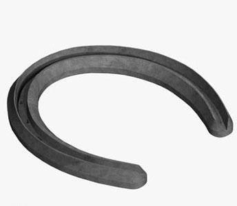 ST. CROIX PLAIN RIM STEEL HORSESHOE