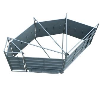 Pearson Livestock Equipment Sweep Tub